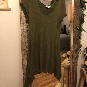 Altar'd State Knit Top (army green - XL)
